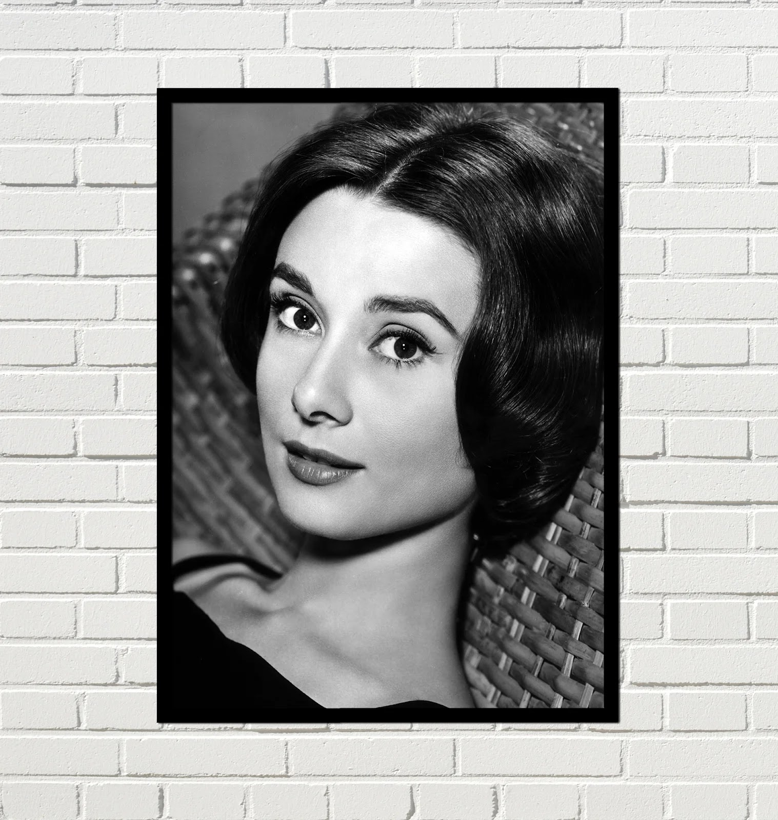 Cuadro vintage Audrey Hepburn