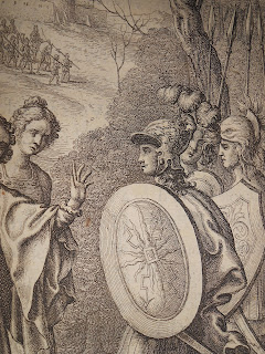 Detail showing Aeneas from Ogibly's edition