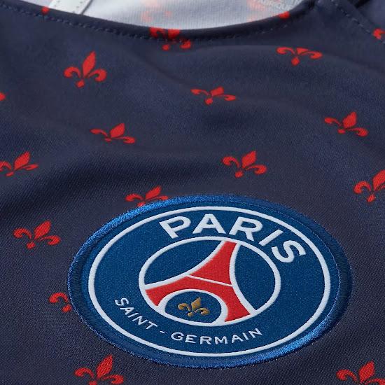 outlet store 79d70 383d5 Unique Nike Paris Saint-Germain 18-19 Pre-Match Jersey ...