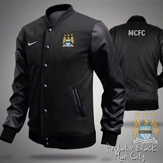 Jaket Distro Bola Manchester City