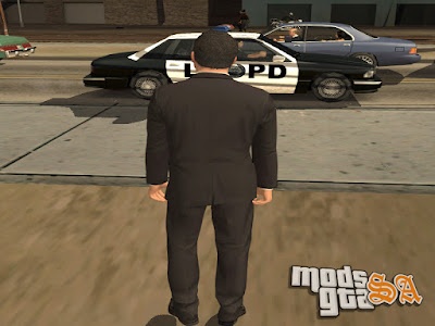 Skin Michael do GTA 5 para GTA San Andreas