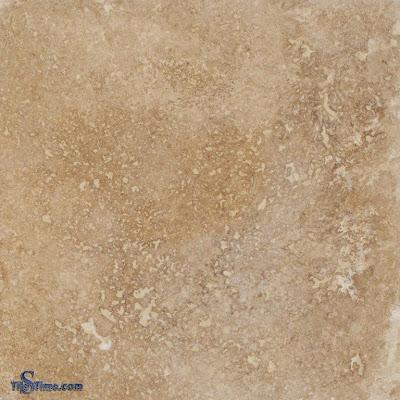 Tuscany Noce Travertine Stone Tile 12-in x 12