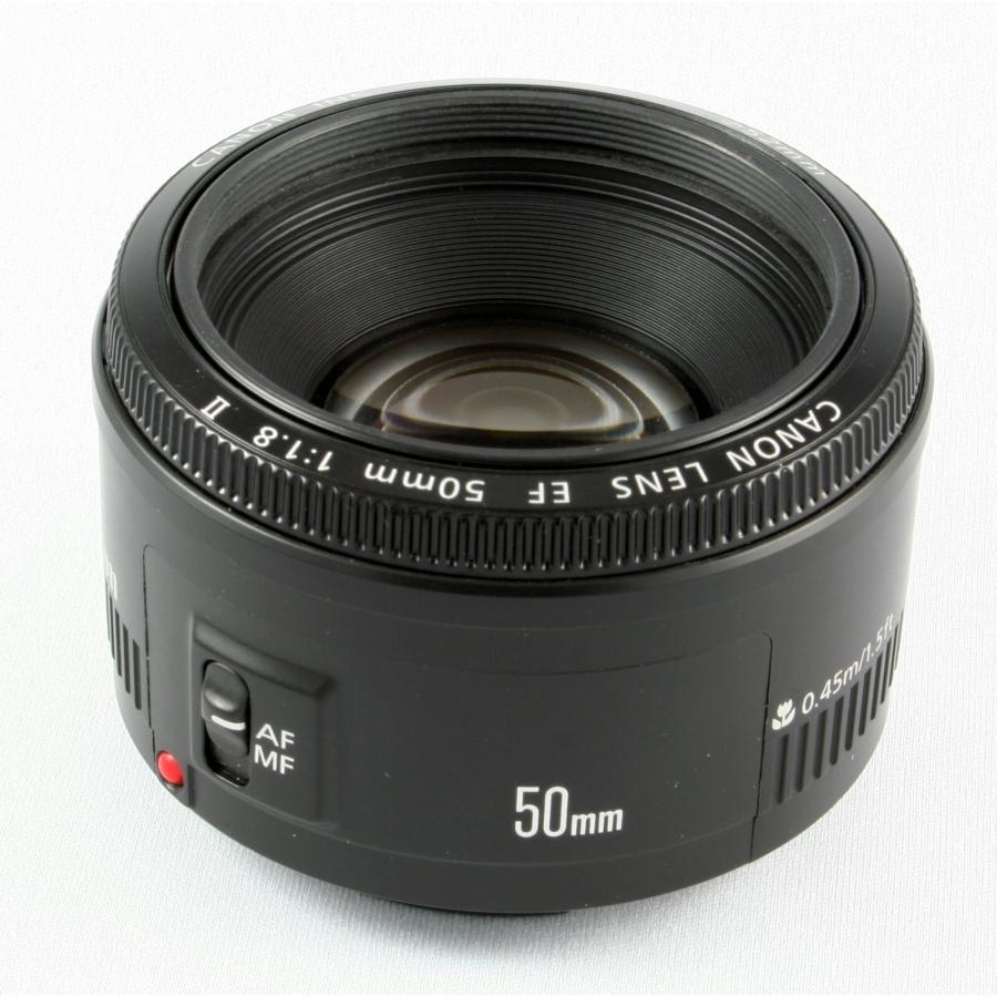 Canon EF f/1.8 50mm Lens + Accessories
