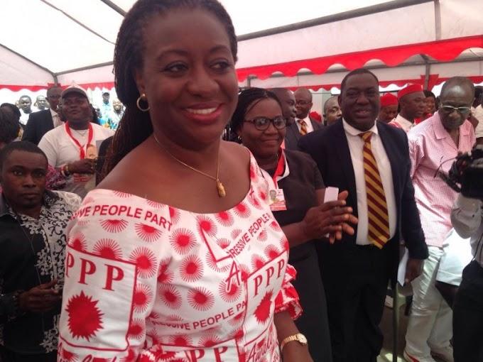Nduom picks former Miss Ghana as running mate