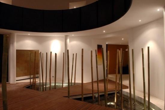 Art wall decor bamboo interior design concept - Bamboo designs for interior designing ...