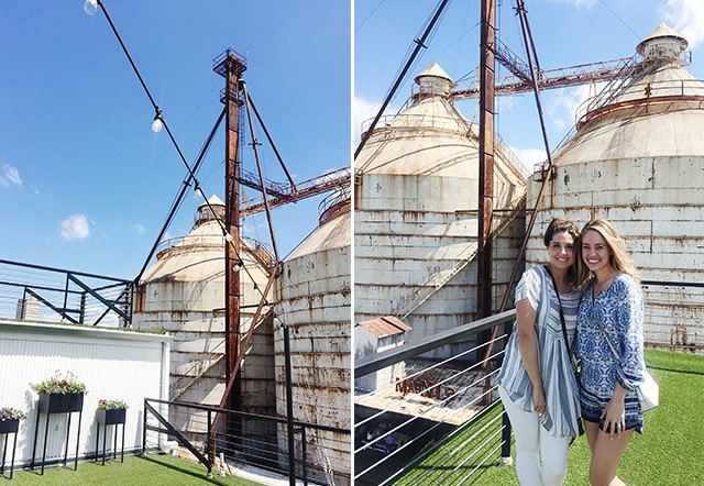 Ashley And I Got A Private Tour Of The Magnolia Offices And Rooftop. It Was  SO Fun And Windy ;)