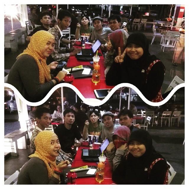 Momen ramadhan bersama BlogM (Blogger Medan)