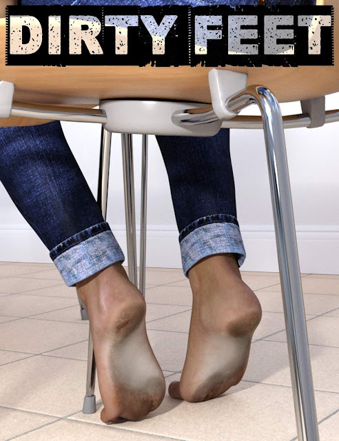 Dirty Feet for Genesis 3 Female