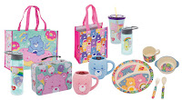 Care Bears Mealtime Set, Care Bears water bottle, holiday gifts, gifts for kids