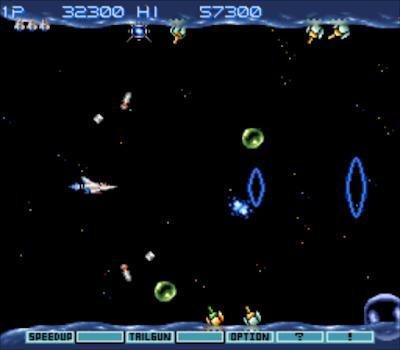 【SFC】宇宙巡航艦3:從傳說到神話(Gradius 3)原版+無敵Hack版!