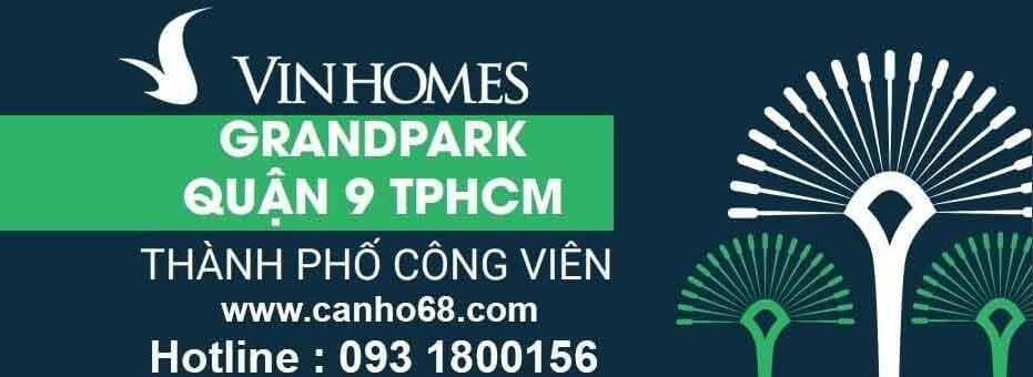 Căn hộ Vinhomes Grand Park Quận 9