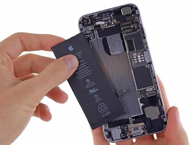 quy trình thay pin iPhone 6 chuyên nghiệp