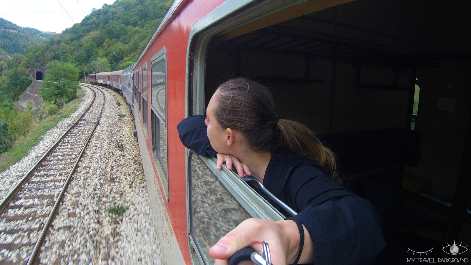My Travel Background : mon Road Trip en Europe en train avec le pass Interrail, itinéraire, budget & co ! - En train entre la Bulgarie et la Roumanie