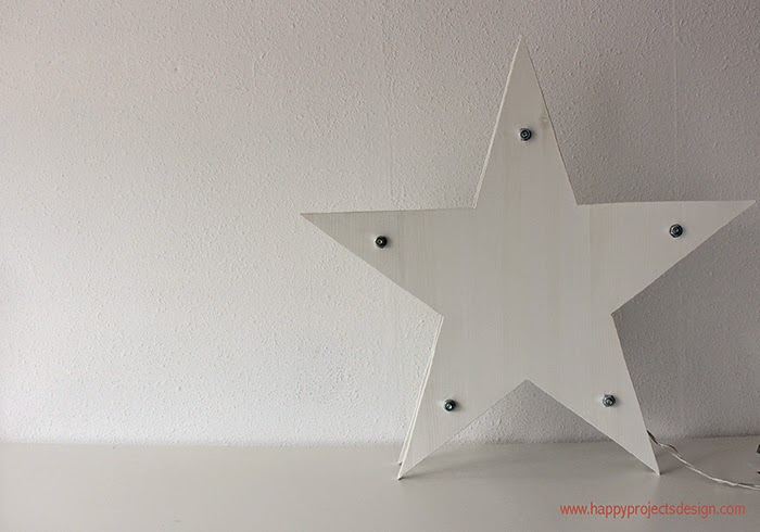 tutorial estrella de luces: el montaje