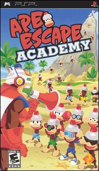 Ape Escape Academy PSP [ISO] USA [MEGA]