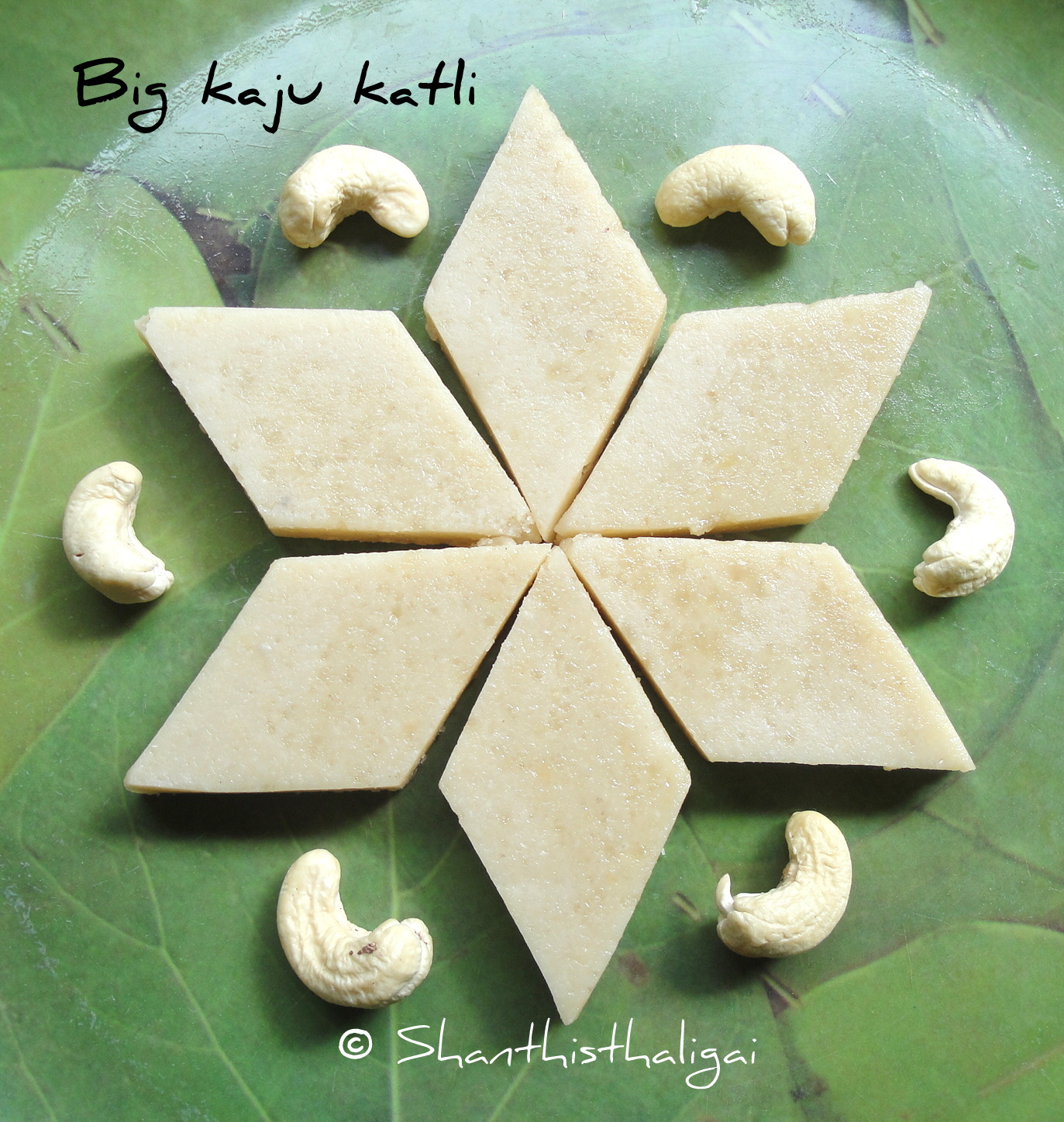 How to make mini kaju katli recipe, How to make kaju katli recipe, How to make small cashew katli recipe