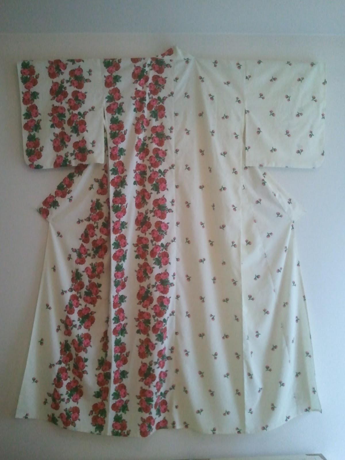 kimono life shabby chic yukata. Black Bedroom Furniture Sets. Home Design Ideas