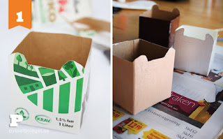 idées DYI carton enfants