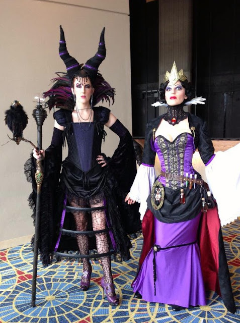 maleficent evil queen disney steampunk cosplay costume