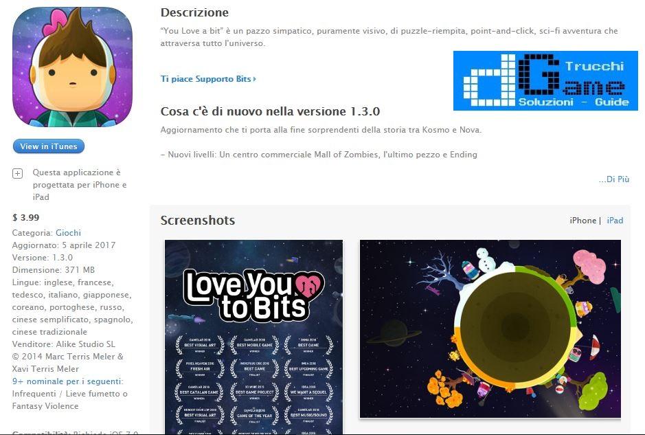 Soluzioni Love You To Bits livello 11 12 13 14 15 16 17 18 19 20 | Trucchi e Walkthrough level