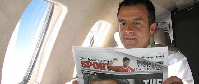 Jorge Mendes, el Rey Midas del fútbol mundial