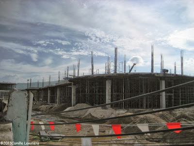 Central Festival under construction in Chaweng