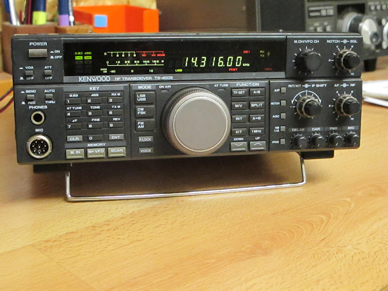 CKD Boats - Roy Mc Bride: Kenwood TS-450 s, needs receiver parts