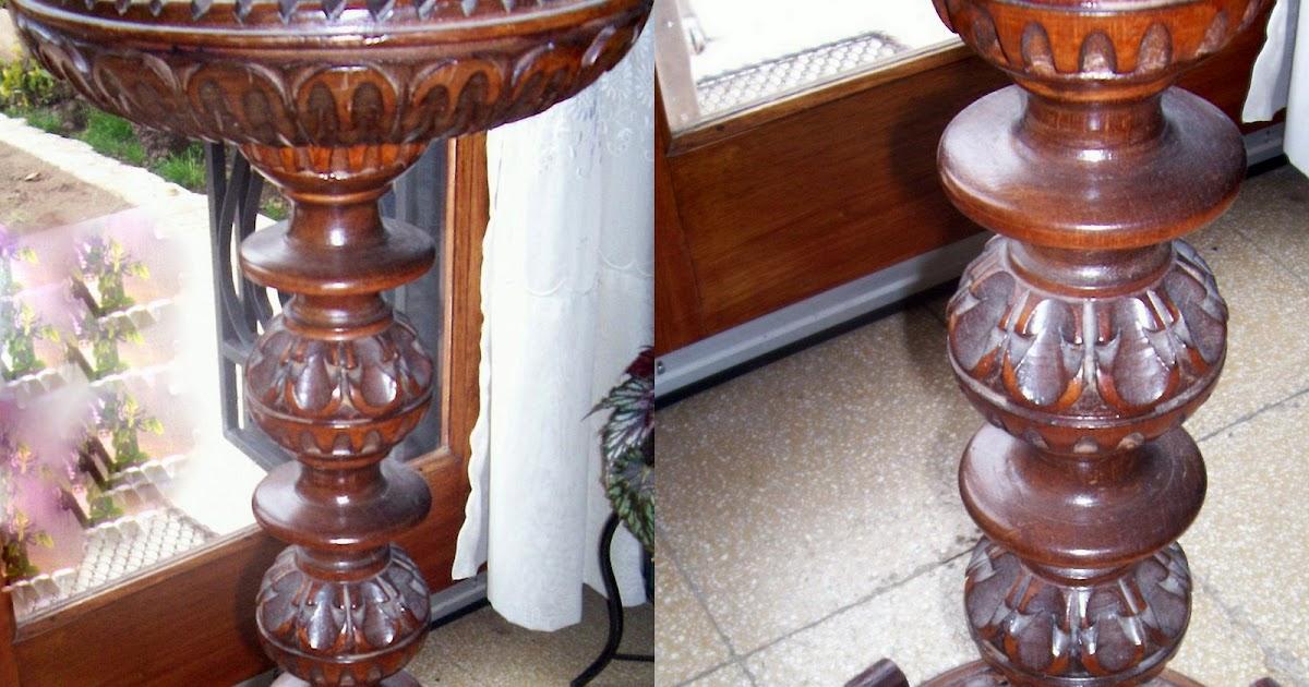 Antiguedades en cordoba argentina pedestal de madera - Muebles antiguos cordoba ...