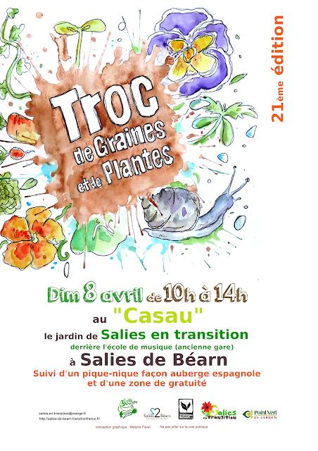 Troc de plantes Printemps Salies de Béarn 2018