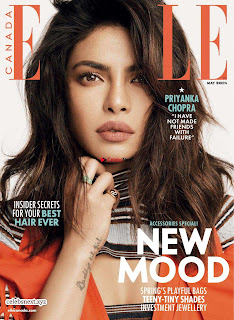 Priyanka Chopra looks fresh stylish young and beautiful for Elle Canada April 2018 ~ Exclusive Galleries 005