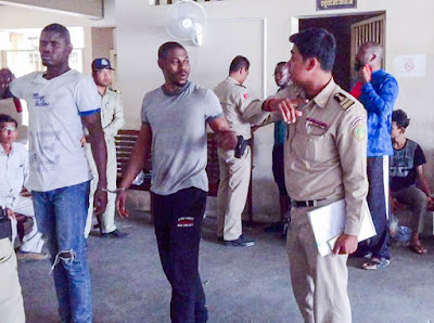 12 Nigerians Arrested Over Fraud, Trafficking In Cambodia