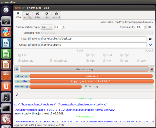 How To Install The Gnormalize Audio Converter Under Ubuntu