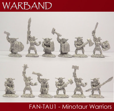 FAN-TAU1 - 12 x Minotaur Warriors