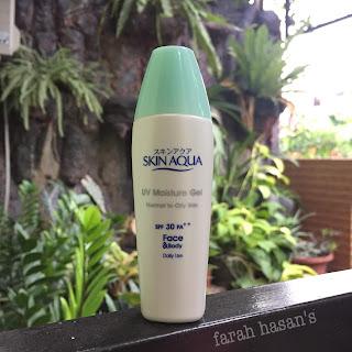 sunscreen oily skin