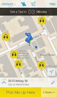 Hailo Taxi App