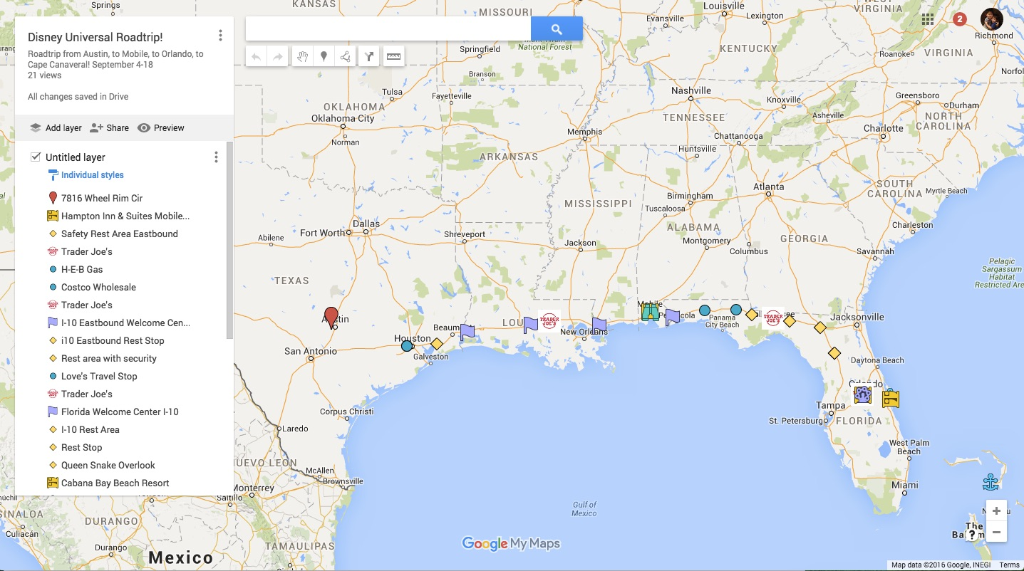Signs of Life : The Brownie Chronicles: Using Google Maps to