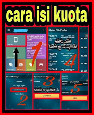 3 Cara Menjual Paket Data Kuota Internet di Darra Reload