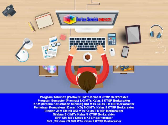 Prota Promes Silabus RPP SKI MTS Kelas 8 KTSP Berkarakter