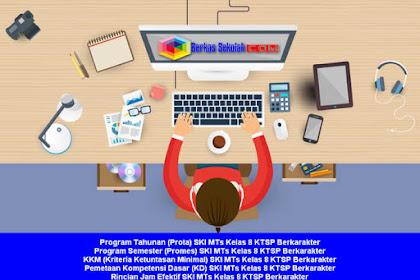 Prota Promes Silabus RPP SKI MTS Kelas 8 KTSP Berkarakter Semester 1 dan 2 Lengkap
