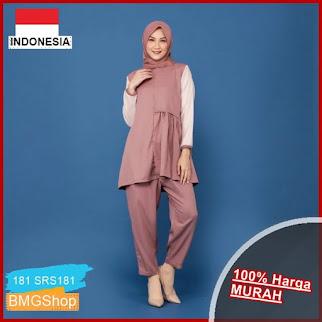 SRS181 Setelan Muslim Wanita Alina Set BMGShop