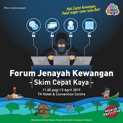 Bank Negara Malaysia Menganjur Karnival Kewangan Terengganu di TH Hotel and Convention Centre