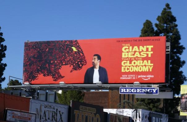 Giant Beast Global Economy series billboard