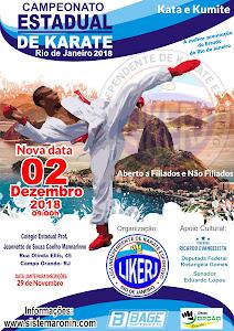 Campeonato Estadual de Karate LIKERJ 2018