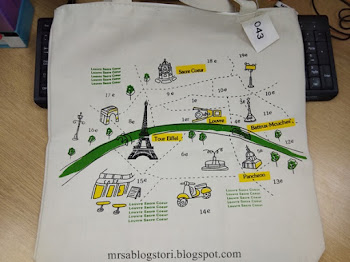 Travel Totebag Dah Sampai.