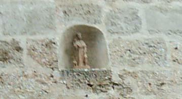 portal, detalle, Beceite, san Roque