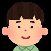 男の子の顔アイコン 5