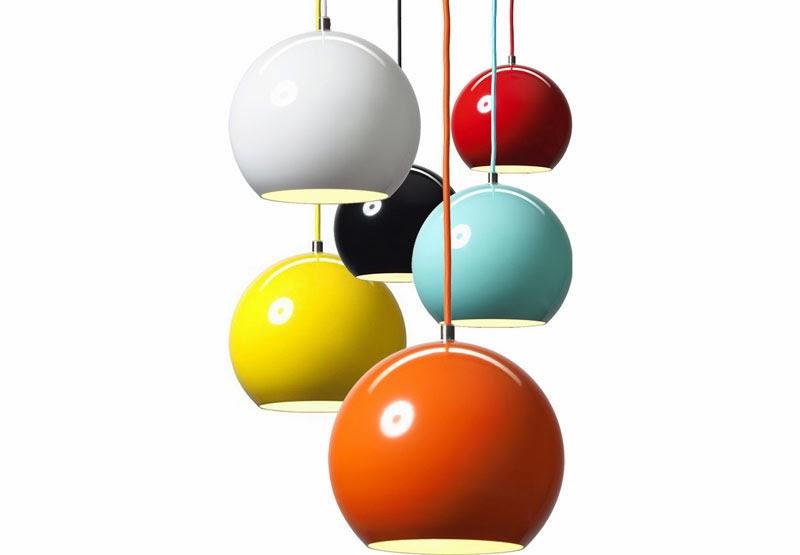 10 lámparas clásicas del diseño industrial, Lámpara de techo Topan Lamp, Verner Panton