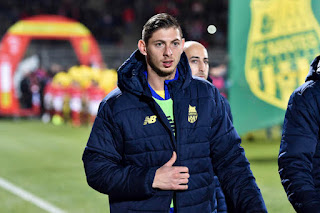 The flight had been carrying Argentine striker Sala, 28, and Mr Ibbotson, 59, from Nantes, north west France, to Cardiff after Sala completed his £15m move to Cardiff City.
