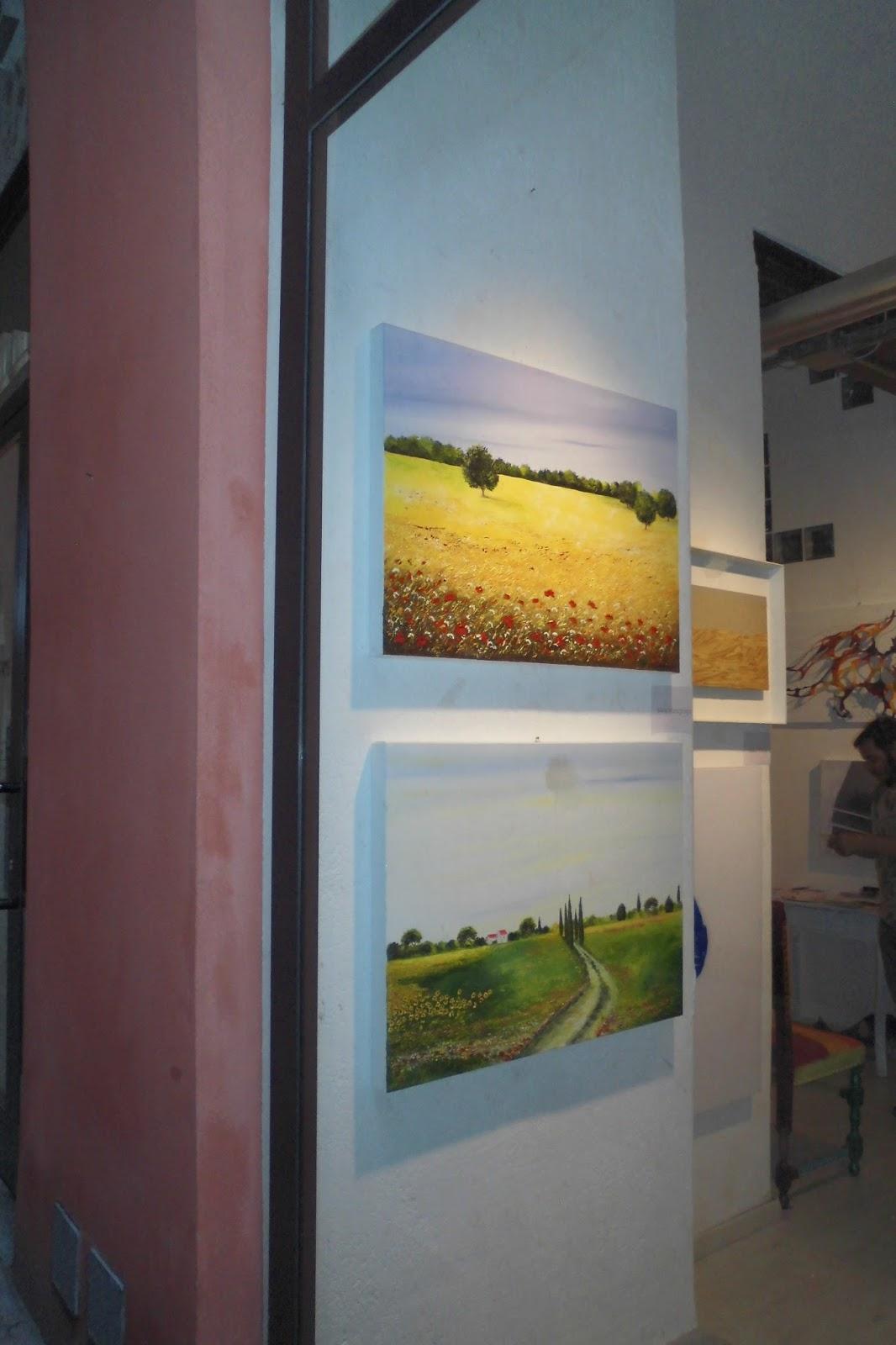 Merlino Bottega D Arte silvia martignago: foto vernissage firenze - galleria