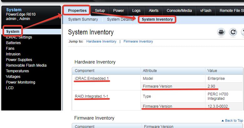 Admin experience: Обновление firmware на примере сервера